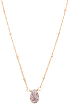 Natalie B Rose Silverite Necklace