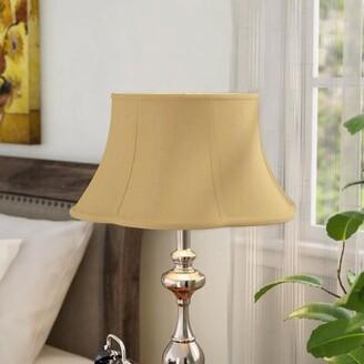 "Alcott Hillâ® 15"" Silk Bell Lamp Shade Alcott HillA Color: Antique Gold"