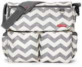 Skip Hop Dash Messenger Diaper Bag, Chevron