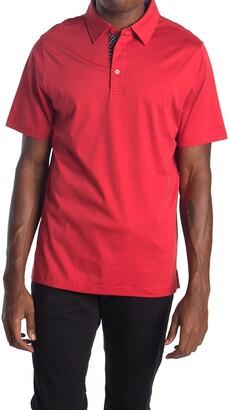 Bugatchi Short Sleeve Polo