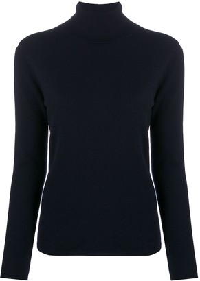 Allude Roll Neck Cashmere Jumper