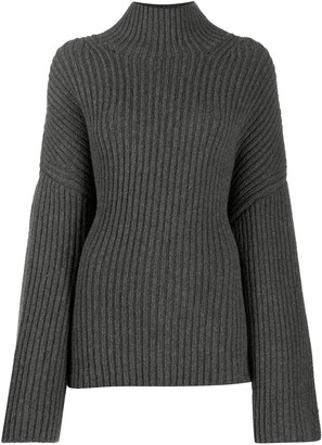 Nanushka Raw turtle neck jumper