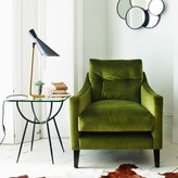 Graham and Green Deep Dream Armchair And Footstool