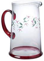 Pfaltzgraff Winterberry Glass Water Pitcher