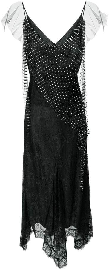 Amen net detail dress