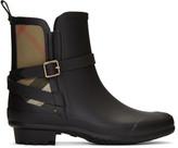 Burberry Black Riddelstone Rain Boots