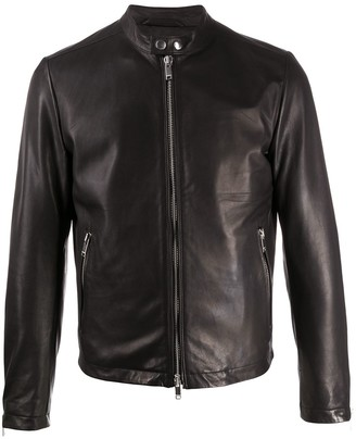 Dondup Fitted Biker Jacket