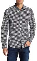 Stone Rose Long Sleeve Woven Dress Shirt