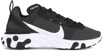 Nike React Element 55 Black Sneakers In Technical Fabric