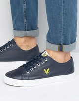 Lyle & Scott Teviot Leather Trainers