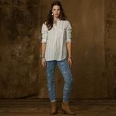 Denim & Supply Ralph Lauren Pintucked Cotton Shirt