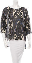 Rag & Bone Silk Printed Tunic