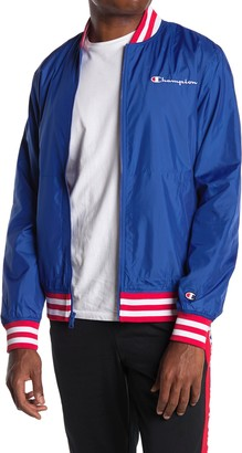 Champion Satin Baseball Jacket
