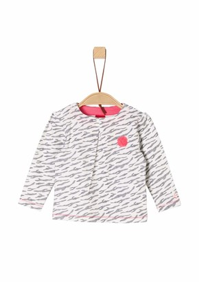 S'Oliver Baby Girls' 65.901.31.8543 Long Sleeve Top