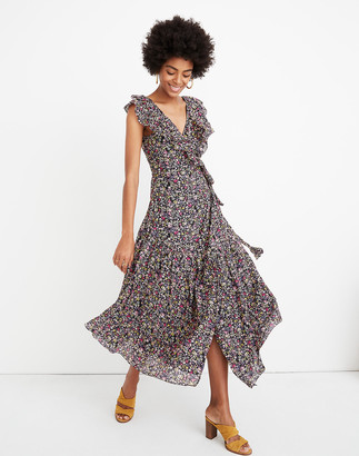 Madewell Apiece Apart Nueva Costa Floral Maxi Dress