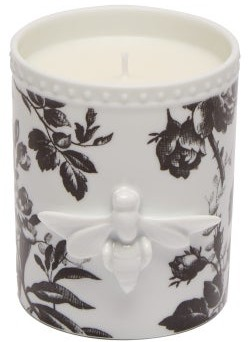 Gucci Bee Floral Scented Candle - White Black