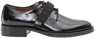Givenchy Cruz Derby Shoes In Brushed Calf