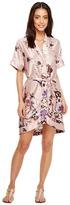 Brigitte Bailey Winnie Kimono Wrap Dress Women's Dress
