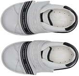 Dolce & Gabbana Sneaker Classica Pium+Pium.Ter (Toddler/Little Kid) (Bianco/Nero) Kid's Shoes