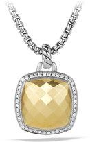 David Yurman Albion Enhancer with Diamonds in Gold