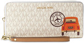 MICHAEL Michael Kors Illustrations Drive Away Travel Continental Wallet