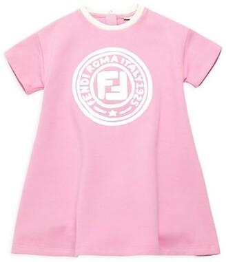 Fendi Baby Girl's Logo T-Shirt Dress