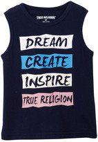 True Religion Dream Inspire Tank (Toddler & Little Girls)