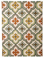 Threshold Floral Bell Hand Tufted Indoor/Outdoor Area Rug