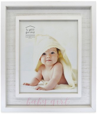 "Prinz ""Baby Girl"" Weathered 8"" x 10"" Frame"