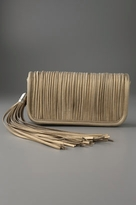 Celeste Tassel Clutch with Tubing