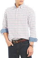 Daniel Cremieux Exploded Check Oxford Long-Sleeve Woven Shirt