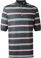 Kris Van Assche striped polo shirt - men - Cotton - XL