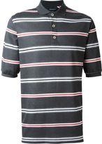 Kris Van Assche striped polo shirt