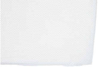 Pehr Pin Dot Baby Crib Sheet - Gray gray/white