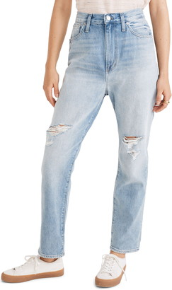 Madewell Ripped Edition Mom Jeans