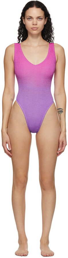 BOUND by Bond-Eye Purple & Pink 'The Mara' One-Piece Swimsuit