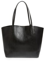 BP Colorblock Faux Leather Tote - Black