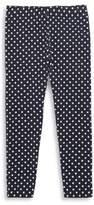 Ralph Lauren Toddler's, Little Girl's & Girl's Polka-Dot Jersey Leggings