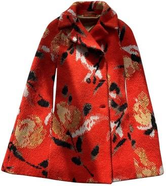 Missoni Orange Wool Coat for Women