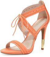 Pour La Victoire Shanna Crisscross Leather Sandal