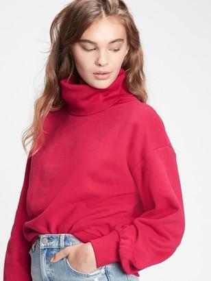 Gap Vintage Soft Turtleneck Sweatshirt