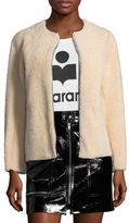 Isabel Marant Aja Shearling Reversible Jacket