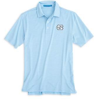 Southern Tide UNC Tarheels Striped Polo Shirt