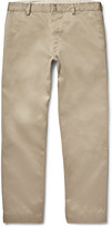 Mens Wide Leg Khaki Pants - ShopStyle
