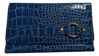 Non Signã© / Unsigned Blue Leather Wallets