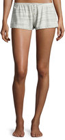 Eberjey Alex Lounge Shorts, Marble Gray