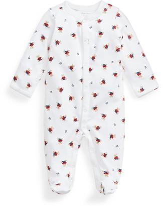 Ralph Lauren Polo Bear Cotton Coverall
