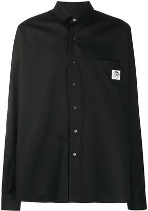 Diesel S-Loomy loose-fit shirt