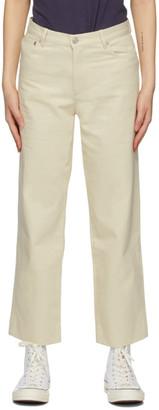 A.P.C. Off-White New Sailor Jeans