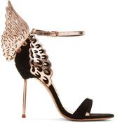 Sophia Webster Black Evangeline Heels